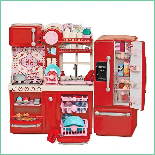 "Our Generation Gourmet Kitchen Set for 18"" Doll"